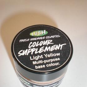 Lush podkladový krém světle žlutý - foto č. 1