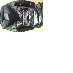Černý péřový kabátek Zara - foto č. 1