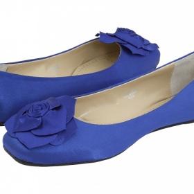 Baleríny v královské modré - foto č. 1
