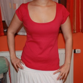 Dámské růžové tričko   Amisu (NewYorker) - foto č. 1
