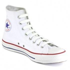 Bílé Converse vysoké tenisky - foto č. 1