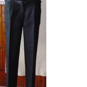 Černé společenské kalhoty na gumu Calliope - foto č. 1