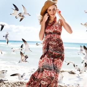 Hippie šaty - foto č. 1