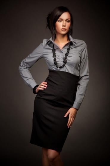 Černá pouzdrová sukně - Bazar Omlazení.cz 148924856c