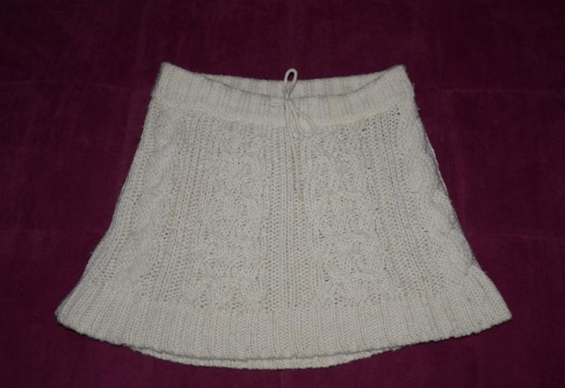 aee650445fb Bílá pletená sukně Zara - Bazar Omlazení.cz