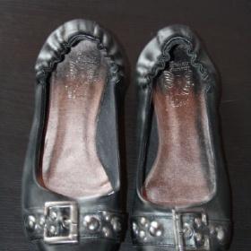 Černé balerínky se sponou Deichmann - foto č. 1