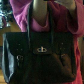 Černá kabelka Calliope - foto č. 1