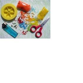 Koupím korálky na výrobu náušnic a Fimo tyčinky - foto č. 1