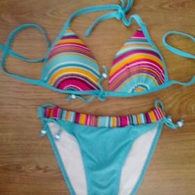 Tyrkysovo - ružové plavky Fashion - foto č. 1