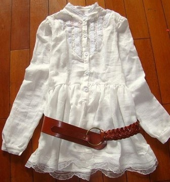 Bílá tunika Japan Style - Praha - Bazar Omlazení.cz 7f04b17e3c