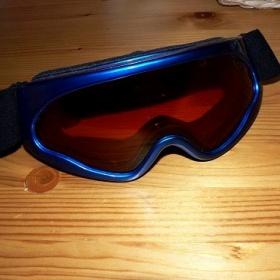 Modré brýle na lyže či snowboard relax - foto č. 1