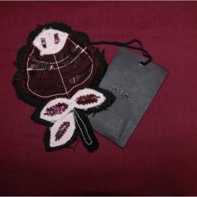 Fialová brož Prada - foto č. 1