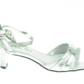 Stříbrné plesové boty - foto č. 1