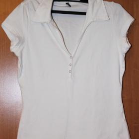 Bílé tričko Amisu - foto č. 1