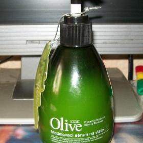 Modelovací Olive serum na suché, poškozené vlasy - foto č. 1