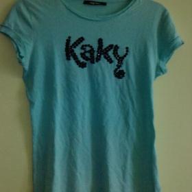 Modr� tri�ko Kaky jeans - foto �. 1