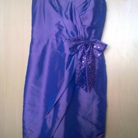 Fialové šaty Pink Label - foto č. 1