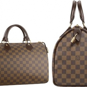 Louis Vuitton, Speedy 30, Damier Canvas - foto č. 1