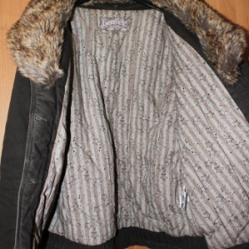 Hnědá bunda Kenvelo - foto č. 1