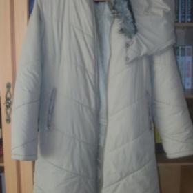 Khaki zimní bunda s kapuci - foto č. 1