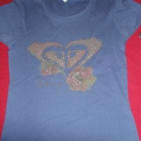 Modré tričko Roxy - foto č. 1