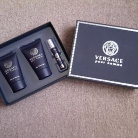 Modrý pánský cestovní set Versace - foto č. 1