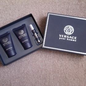 Modr� p�nsk� cestovn� set Versace - foto �. 1