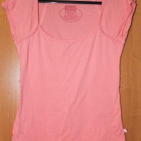 Růžové tričko s krátkým rukávem Roxo - foto č. 1