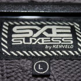 Hn�d� pleten� svetr SXE Kenvelo - foto �. 1