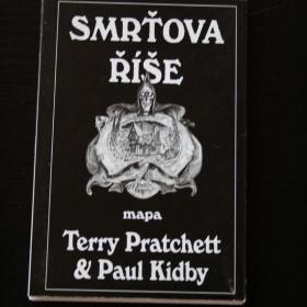 Terry Pratchett - Smrťova říše mapa - foto č. 1