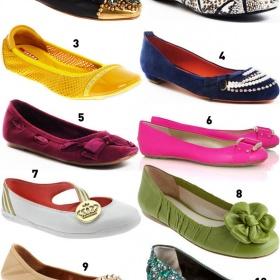 Jarní boty bez podpatku nebo černé tenisky - foto č. 1