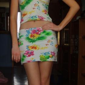 Letní set sukně a top - foto č. 1