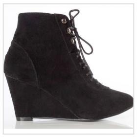 Černé boty na platformě - foto č. 1