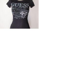 Černé tričko  Guess - foto č. 1