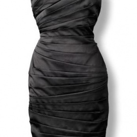 Koktejlové mini šaty - foto č. 1