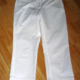 Bílé 7/8 kalhoty Camaieu - foto č. 1