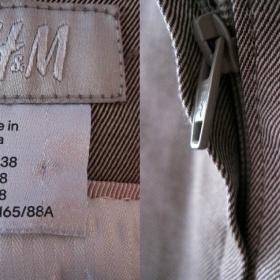 Šaty v pískové barvě z HM - foto č. 1
