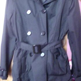 Černý kabát baloňák - foto č. 1