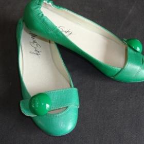 Miss sixty zelené balerínky - foto č. 1