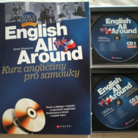 U�ebnice angli�tiny pro samouky English All Around a 2 CD - foto �. 1