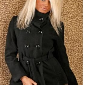 Delší jarní kabátek na knoflíky - foto č. 1