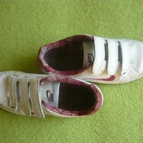 Tenisky Nike na such� zip b�l� barvy - foto �. 1