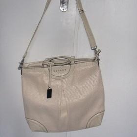 Bled� be�ovo biela kabelka Sisley do suky i ako crossbody - foto �. 1
