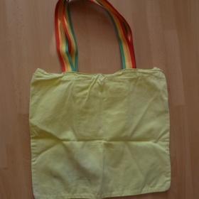 �lut� pl�t�n� ta�ka s barevn�m potiskem Sisley - Benetton - foto �. 1