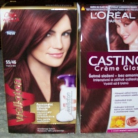 Wellaton barva ma vlasy, Loreal přeliv - foto č. 1