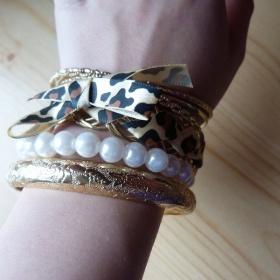 Set zlatých náramků Tally Weijl - foto č. 1