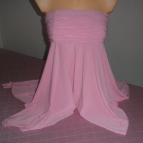 Top (nebo lehčí sukně) růžové barvy - Miel Paris - foto č. 1