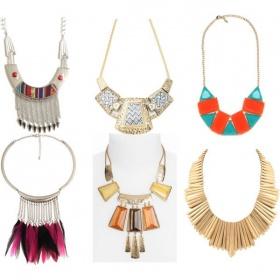 Masivní náhrdelníky a prsteny - foto č. 1