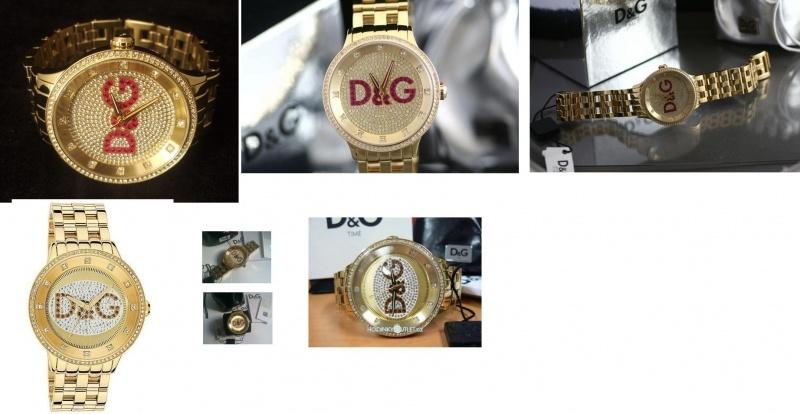Zlaté hodinky Dolce Gabbana - Bazar Omlazení.cz d3215df8ed