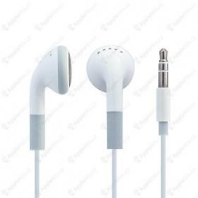 Bílá sluchátka Apple - foto č. 1